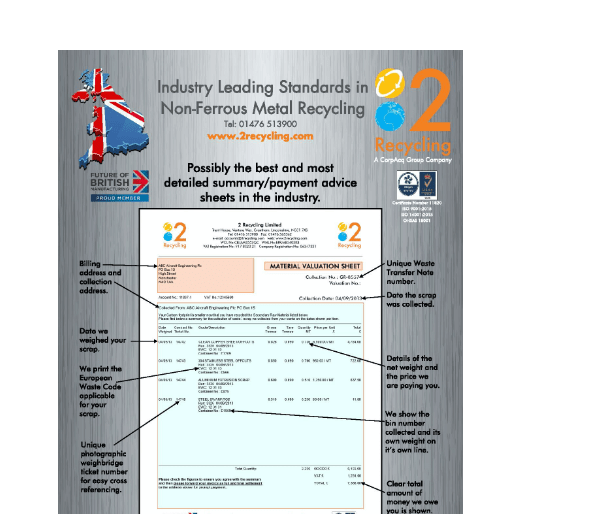 HD Photographic weighbridge tickets example
