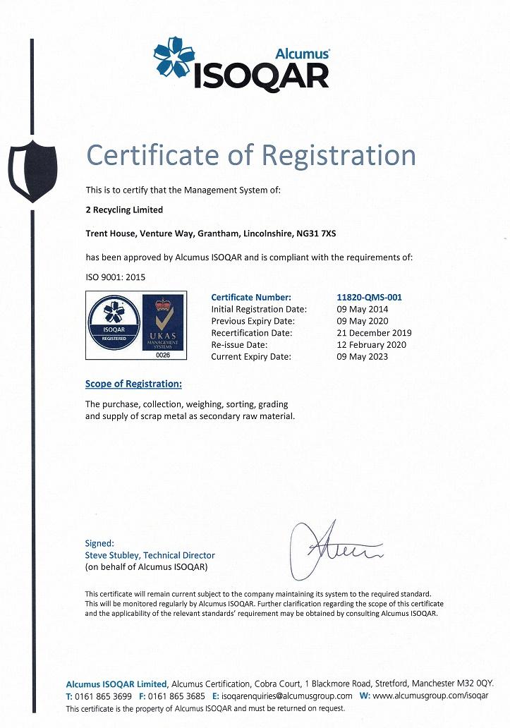 ISO 9001 2015 Feb 2020 1