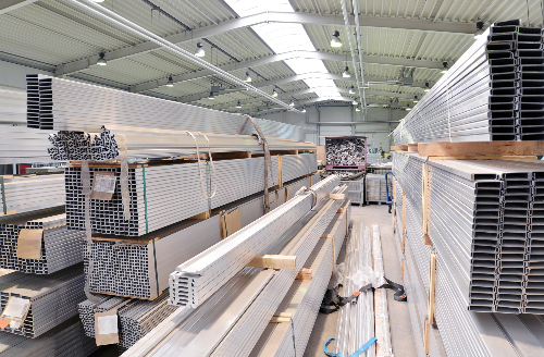 Long Length Extrusion storage