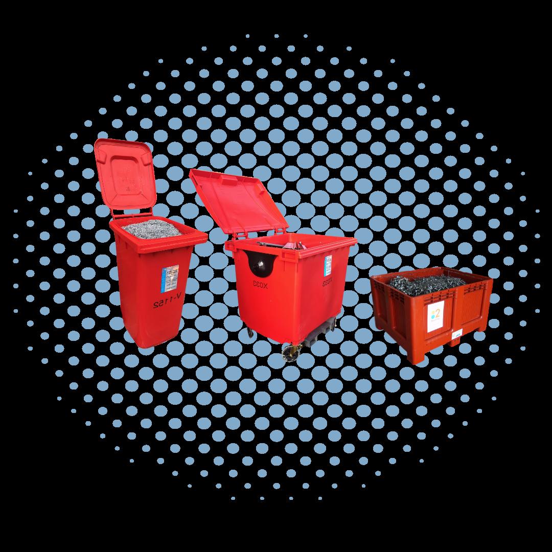 Plastic bins 1