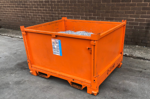 TYPE D - Metal Bins for metal recycling