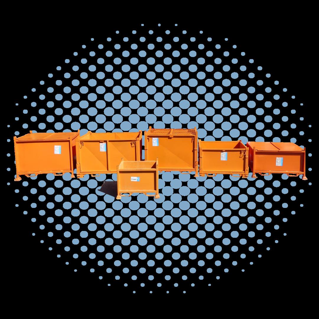 Metal Bins